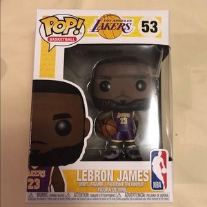 Lebron James-Lakers- Purple Jersey-Funko Pop!